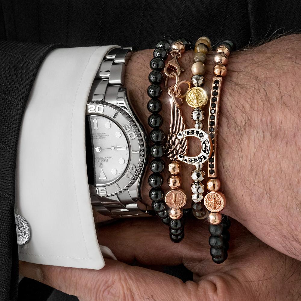 wholesale dealer 986a4 54a4c Anelli e Bracciali Uomo: la Moda del Momento - Sara Carboni