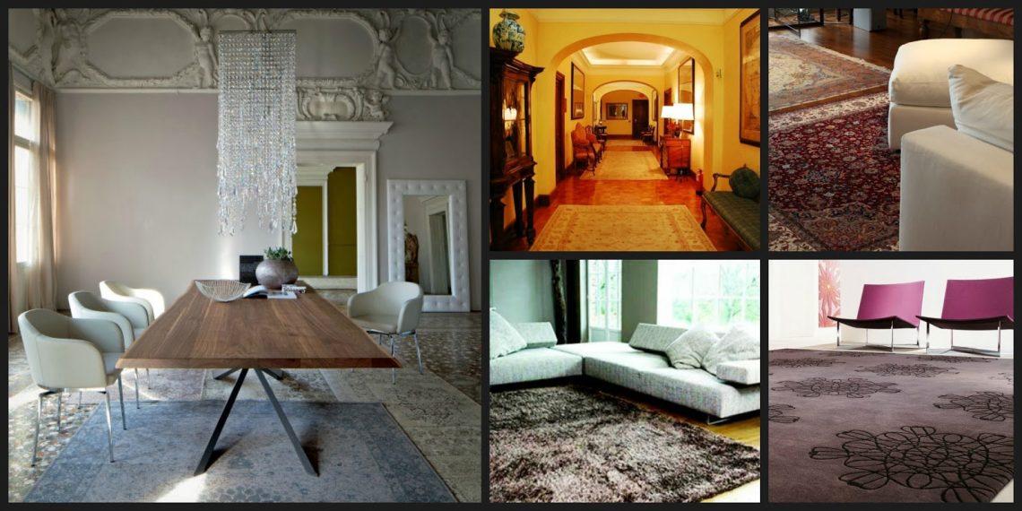 Tappeti grandi e piccoli per arredare con gusto sara carboni - Colore divano pavimento cotto ...